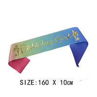 1Pc Pita Glitter untuk Dekorasi Ulang Tahun / Ulang Tahun