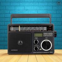 Retekess Tr618 Radio Fm/Am/Sw 3 Band Portable Dengan Speaker Usb Tf