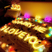 Luminous Lampu Dekorasi Pesta Ulang Tahun Pernikahan Lampu Malam LED