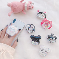 FYGALERYJAKARTA - Popsocket Glitter Liquid Karakter Bubble Tea Pop