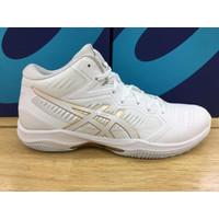 Sepatu Basket Voli Volly Volley Asics Gel Hoop V2 White Gold Original