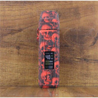 Skull Silicone Case for Voopoo vinci 40w Pod Sleeve Cover sticker