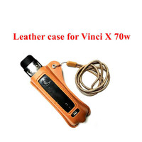 voopoo vinci x 70w Lanyard PU Leather Case Cover Sleeve Pouch