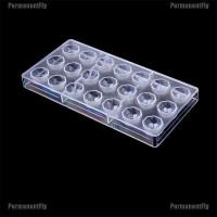 21pcs Cetakan Permencoklat Bentuk Berlian Bahan Polycarbonate Keras