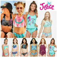 Swimsuit Justice Baju Renang Anak Bikini Anak Branded Swimwear Kids