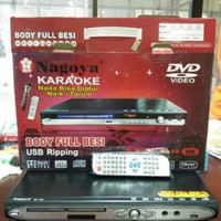 DVD PLAYER NAGOYA KARAOKE BODY FULL BESI USB RIPPING