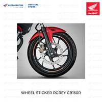 Wheel List Sticker (STIKER VELG HONDA CB VERZA ABU-ABU) 871X0K56FGRE