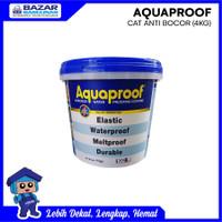 CAT PELAPIS TEMBOK DINDING AQUAPROOF WATERPROOF ANTI BOCOR GALON 4 KG