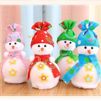 ildren Kids Snowman Bags High Class ristmas Eve Apple Bags Gift Bags