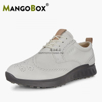 HOT SALE 2020 New Golf Shoes Mens Waterproof Leather Golf Boots