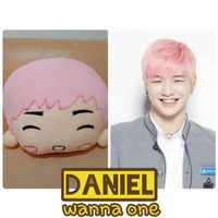 ORIGINAL REAL PICT Bantal korea Wanna one Kang daniel BAHAN PREMIUM