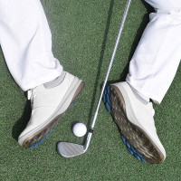 HOT SALE Men Leather Golf Shoes Brand Outdoor Golf Training Sneakers