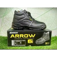 SJU Sepatu Safety Sepatu Pengaman Arrow 6 Inch Krisbow
