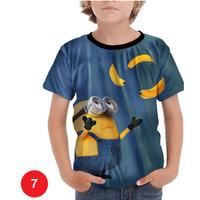 Kaos Minions Anak Baju Serial Kartun Anak #07