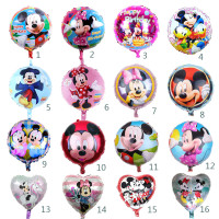 18 In Mickey Mouse Minnie Balon Dekorasi Pesta Ulang Tahun Balon