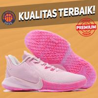 Sepatu Basket Sneakers Nike Kobe Mamba Fury Think Pink Kay Yow