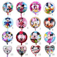 1 Pcs 18 In Mickey Mouse Minnie Balon Dekorasi Pesta Ulang Tahun