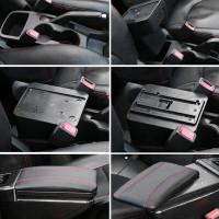 Car Rotatable Armrest For Suzuki Sx4 2007-2013 Arm Rest Storage Box