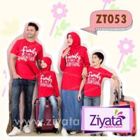 Manset Gamis Panjang promo Kaos Pasangan Ziyata Family Murah Kaos Atas