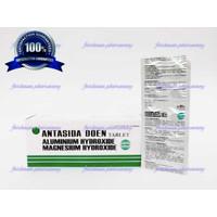 Promo Asli Antasida Doen Erela Tablet / untuk maag & kembung generik