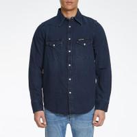 CALVIN KLEIN - Kemeja Denim Pria - Foundation Western Shirt 1