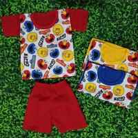 Setelan Anak Laki-Laki P/E usia 3-9 bulan EM / LL / Baju Bayi / Diskon