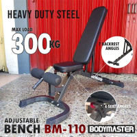 BODYMASTER Adjustable Bench - Bangku Sit Up Fitness Gym