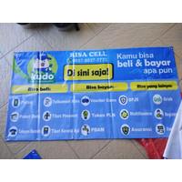 GRATIS ONGKIR paket hemat spanduk kudo free banner last stok