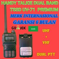HT TSSD UV-71 DUAL BAND - DUAL PTT Kualitas diatas Baofeng UV-5R UV