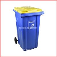 Krisbow Tempat Sampah Neo 240 Ltr - Biru