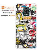 Casing Xiaomi Redmi Note 9 Pro/9s/9ProMax Softcase Anticrack Sticker 2