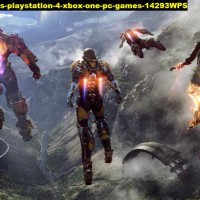 Poster anthem 2019 games playstation 4 xbox one pc 14293 90x51 PET