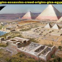 Poster assassin creed origins giza egyptian pyramids great 115 90x66