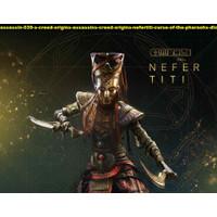 Poster assassin creed origins nefertiti curse of pharaohs dlc 1 90x70