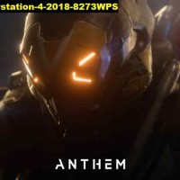 Poster Game anthem xbox one pc playstation 4 2018 8273WPS 150x64 PET