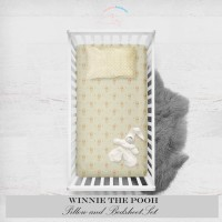 NEENAABOOBOO - Pillow And Bedsheet   Winnie The Pooh