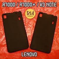 Case Lenovo A7000 / A7000+ / K3 Note Hitam Black Matte Softcase