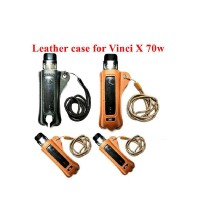 voopoo vinci x 70w Lanyard PU Leather Case Cover Sleeve Pouch Carrying