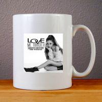 Mug Keramik - Ariana Grande Love Me Harder