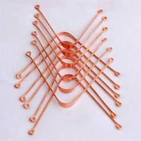 Pure Copper Tounge Cleaner Ayurvedic Scraper for Men and Women Oral Ca