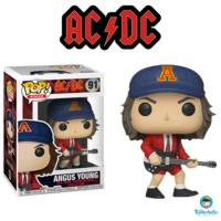 Funko POP Rocks ACDC Angus Young with Red Jacket Exclusive 91