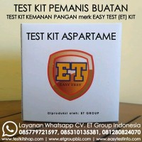 Test Kit Alat Uji Cepat Pemanis Aspartam atau Aspartame Order Now