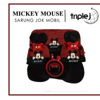 Sarung Jok Mobil Mickey Mouse 18 in 1 Top Seller