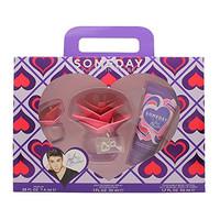 Justin Bieber Someday Gift Set of 3 Body Lotion, 2 Parfum, & 1 Oz Perf