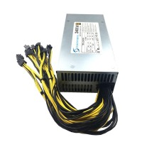 2400W Mining Power Supply 80 GOLD PLUS PSU 220V Antminer S9 S9i A3 T9