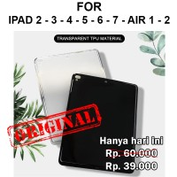 Case Apple iPad 2 3 4 5 6 7 Air 1 2 softcase casing cover silikon TPU