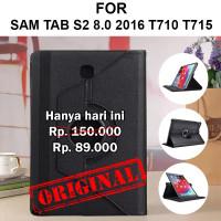 Flip cover rotate case Samsung Tab S2 8.0 2016 T710 T715 auto lock