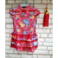 Terlaris Cheongsham Bunga Tutu Cheongsam Baju Imlek Anak Murah Qipao