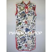 Dijual Cheongsham Anak Bunga Dress Imlek Baju Tahun Baru Qipao Anak