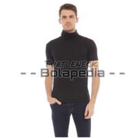 TRENDY Kaos TURTLENECK LENGAN PENDEK / turtle neck pria baju style